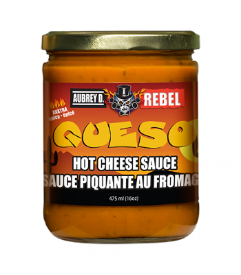 Aubrey D Hot Queso (475ml) Snacks and Chips Aubrey D
