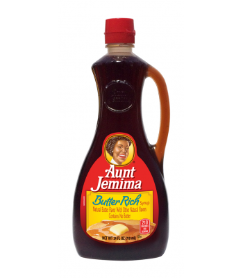 Aunt Jemima Butter Rich Flavour Syrup 24oz (710ml) Food and Groceries Aunt Jemima