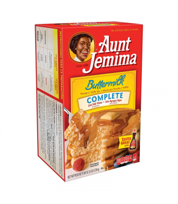 Aunt Jemima Buttermilk Complete Pancake & Waffle Mix HUGE - 5lb (80oz) (2.26kg) Food and Groceries Aunt Jemima