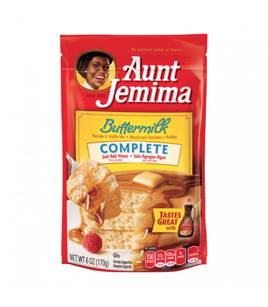 Aunt Jemima Buttermilk Complete Pancake Mix 6oz (170g) Food and Groceries Aunt Jemima