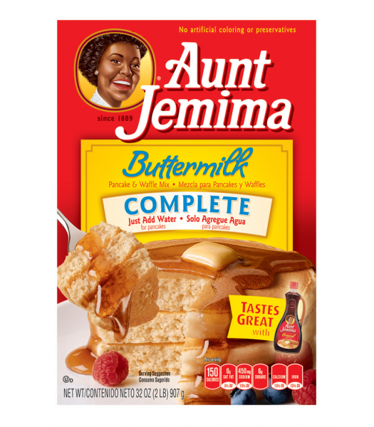 Aunt Jemima Buttermilk Complete Pancake and Waffle Mix 32oz (907g) Breakfast & Cereals Aunt Jemima
