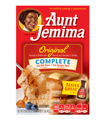 Aunt Jemima Complete Pancake and Waffle Mix 16oz (453g) Breakfast & Cereals Aunt Jemima