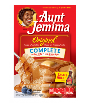 Aunt Jemima Complete Pancake Mix 32oz (907g) Breakfast & Cereals Aunt Jemima