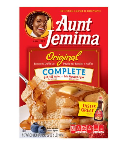 Aunt Jemima Original Complete Pancake Mix - 32oz (907g) Food and Groceries Aunt Jemima