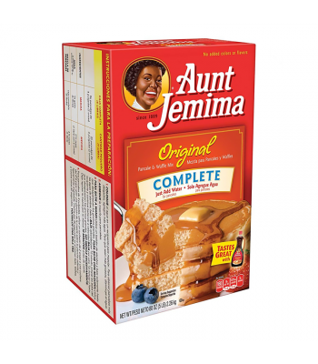 Aunt Jemima Original Complete Pancake & Waffle Mix HUGE - 5lb (80oz) (2.26kg) Food and Groceries Aunt Jemima