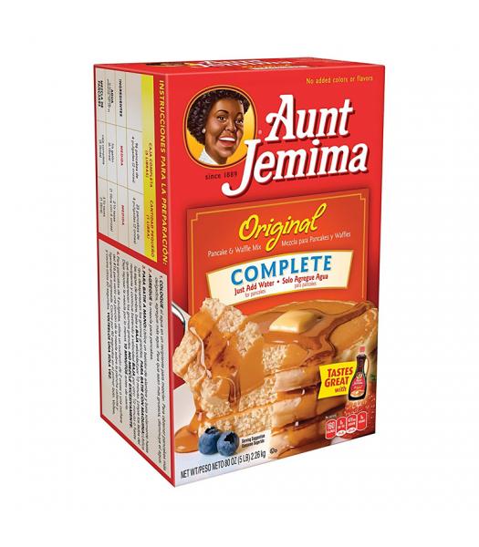 Aunt Jemima Original Complete Pancake & Waffle Mix HUGE - 5lb (80oz) (2.26kg) Food and Groceries Aunt Jemima