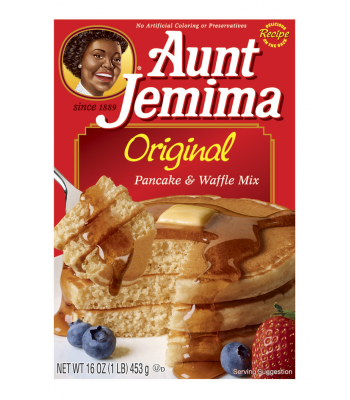 Aunt Jemima Original Pancake and Waffle Mix 16oz (453g) Food and Groceries Aunt Jemima