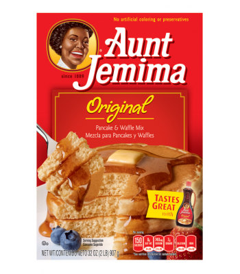 Clearance Special - Aunt Jemima Original Pancake and Waffle Mix 32oz (Best Before: 14 September 2016) Clearance Zone