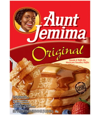 Clearance Special - Aunt Jemima Original Pancake and Waffle Mix HUGE 5lb (2.26kg) (Best Before: 01 November 2016) Clearance Zone