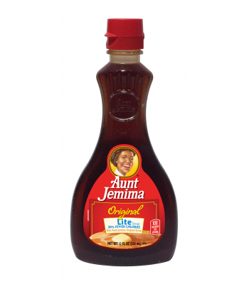 Clearance Special - Aunt Jemima Original Lite Syrup 12fl.oz (Best Before: 13 October 2016) Clearance Zone
