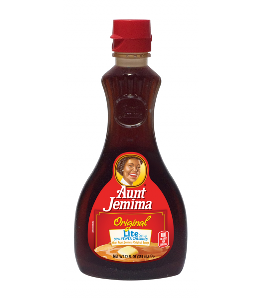 Aunt Jemima Original Lite Syrup 12fl.oz (355ml) Breakfast & Cereals Aunt Jemima