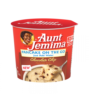 Aunt Jemima Pancake On The Go Chocolate Chip Mix - 2.11oz (60g) Food and Groceries Aunt Jemima