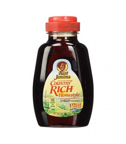 Aunt Jemima Country Rich Homestyle Pancake Syrup 8fl.oz (236ml) Food and Groceries Aunt Jemima