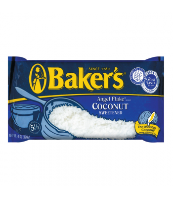 Bakers Angel Flake Sweetened Coconut 14oz (397g)  Baking & Cooking
