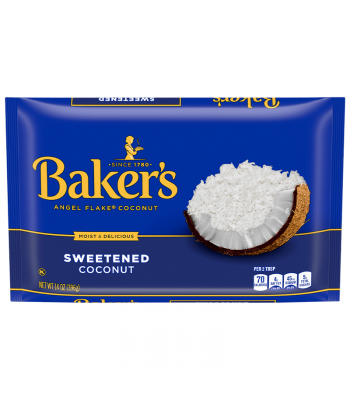 Baker's Angel Flake Sweetened Coconut - 14oz (396g)  Food and Groceries