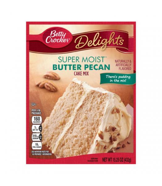 Betty Crocker Super Moist Delights Butter Pecan Cake Mix - 15.25oz (432g) Food and Groceries Betty Crocker