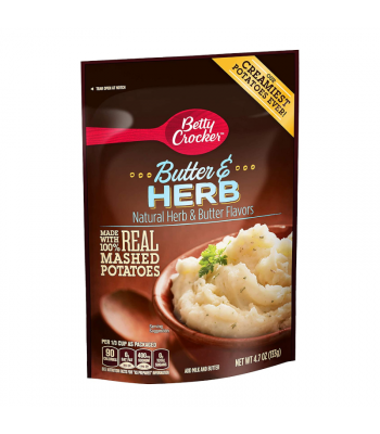 Betty Crocker Butter & Herb Mashed Potato - 4.7oz (133g) Food and Groceries Betty Crocker