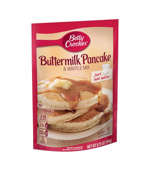 Betty Crocker Buttermilk Pancake & Waffle Mix - 6.75oz (191g) Food and Groceries Betty Crocker