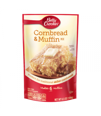 Betty Crocker Cornbread & Muffin Mix - 6.5oz (184g) Food and Groceries Betty Crocker