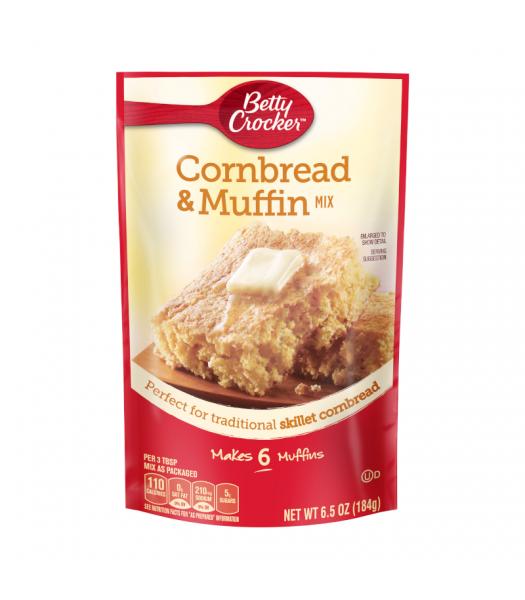 Betty Crocker Cornbread & Muffin Mix - 6.5oz (184g) Food and Groceries Betty Crocker