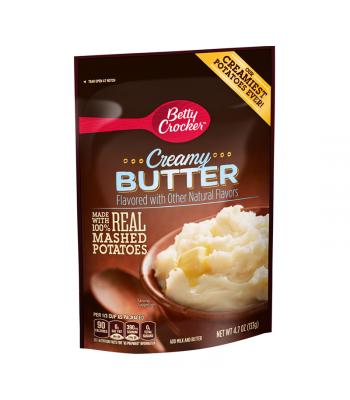 Betty Crocker Creamy Butter Mashed Potatoes - 4.7oz (133g) Food and Groceries Betty Crocker