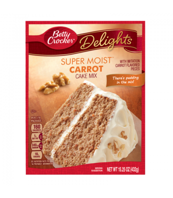 Clearance Special - Betty Crocker Carrot Cake Mix ** 15th February 2017 ** Clearance Zone