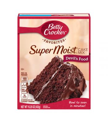 Betty Crocker Favorites Super Moist Devil's Food Cake Mix - 15.25oz (432g) Food and Groceries Betty Crocker