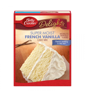 Betty Crocker Delights Super Moist French Vanilla Cake Mix - 15.25oz (432g)