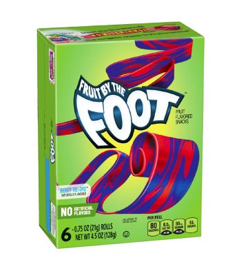 Betty Crocker Fruit By The Foot Berry Tie-Dye - 4.5oz (128g) Sweets and Candy Betty Crocker