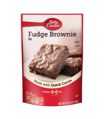 Betty Crocker Fudge Brownie Mix Pouch - 10.25oz (290g)