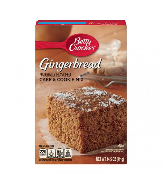 Betty Crocker Gingerbread Cake & Cookie Mix - 14.5oz (411g)