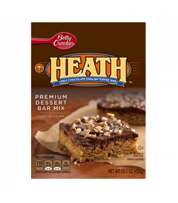 Betty Crocker Hershey's Heath Premium Dessert Bar Mix 15.1oz (428g)