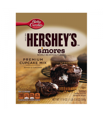 Betty Crocker Hershey S'mores Cupcake Mix - 17.9oz Baking & Cooking Betty Crocker