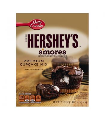 Betty Crocker Hershey S'mores Cupcake Mix - 17.9oz Baking & Cooking Betty Crocker