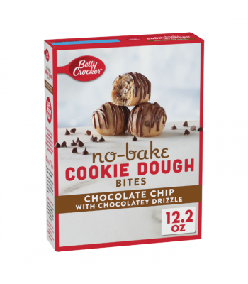 Betty Crocker No Bake Cookie Dough Bites Chocolate Chip - 12.2oz (345g) Food and Groceries Betty Crocker