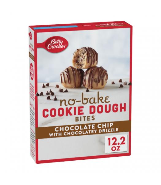 Betty Crocker No Bake Cookie Dough Bites Chocolate Chip - 12.2oz (345g) Food and Groceries Betty Crocker