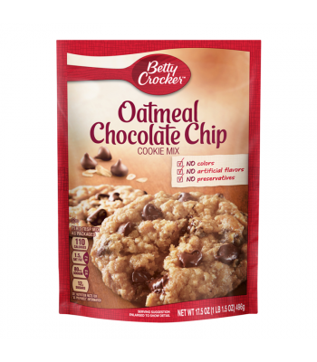 Betty Crocker Oatmeal Chocolate Chip Cookie Mix - 17.5oz (496g) Food and Groceries Betty Crocker