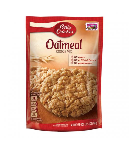 Betty Crocker Oatmeal Cookie Mix - 17.5oz (496g) Food and Groceries Betty Crocker