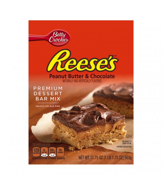 Betty Crocker Reese's Peanut Butter & Chocolate Premium Dessert Bar Mix - 17.75oz (503g) Food and Groceries Reese's