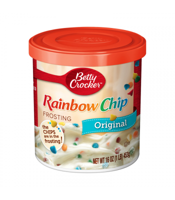 Betty Crocker Rainbow Chip Frosting - 16oz (453g) Food and Groceries Betty Crocker