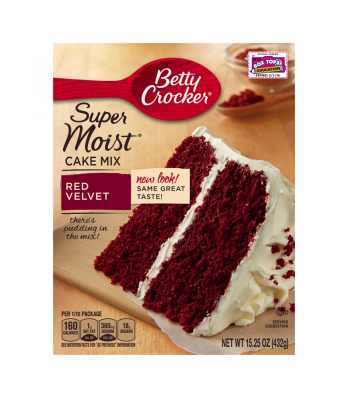 Clearance Special - Duncan Hines Red Velvet Cake Mix 517g **Best Before: 21 September 16** Clearance Zone