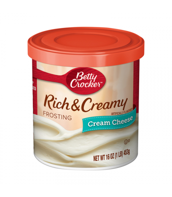 Betty Crocker Rich & Creamy Cream Cheese Frosting - 16oz (1LB) (453g) Food and Groceries Betty Crocker