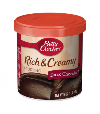 Betty Crocker Rich & Creamy Dark Chocolate Frosting - 16oz (453g) Food and Groceries Betty Crocker