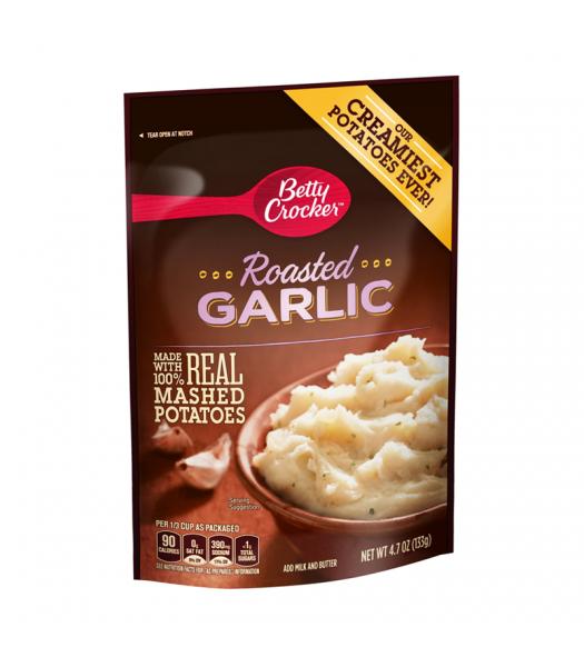 Betty Crocker Roasted Garlic Mashed Potatoes - 4.7oz (133g) Food and Groceries Betty Crocker