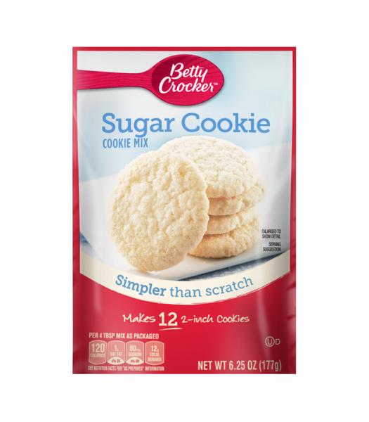 Betty Crocker Snack Size Sugar Cookie Mix - 6.25oz (177g) Food and Groceries Betty Crocker