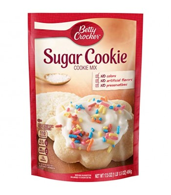 Betty Crocker Sugar Cookie Mix 17.5oz (496g) Food and Groceries Betty Crocker