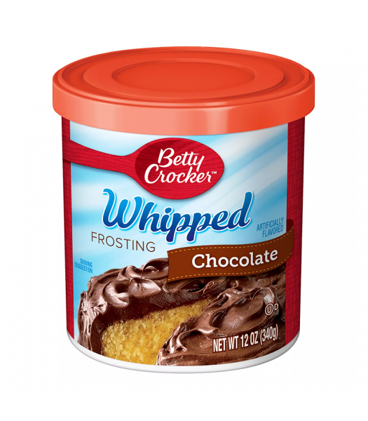 Betty Crocker Whipped Chocolate Frosting - 12oz (340g) Food and Groceries Betty Crocker