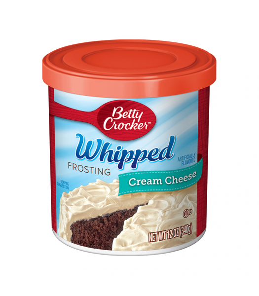 Betty Crocker Whipped Cream Cheese Frosting - 12oz (340g)