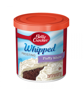 Betty Crocker Whipped Fluffy White Frosting - 12oz (340g)
