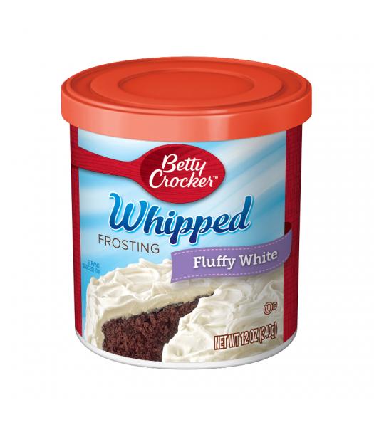 Betty Crocker Whipped Fluffy White Frosting - 12oz (340g)